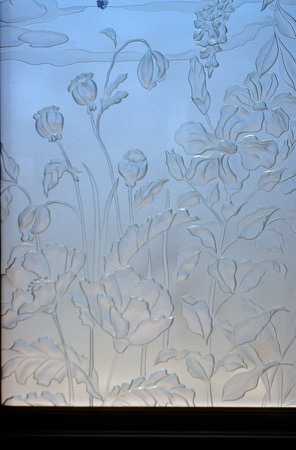 Frosted Glass Etching