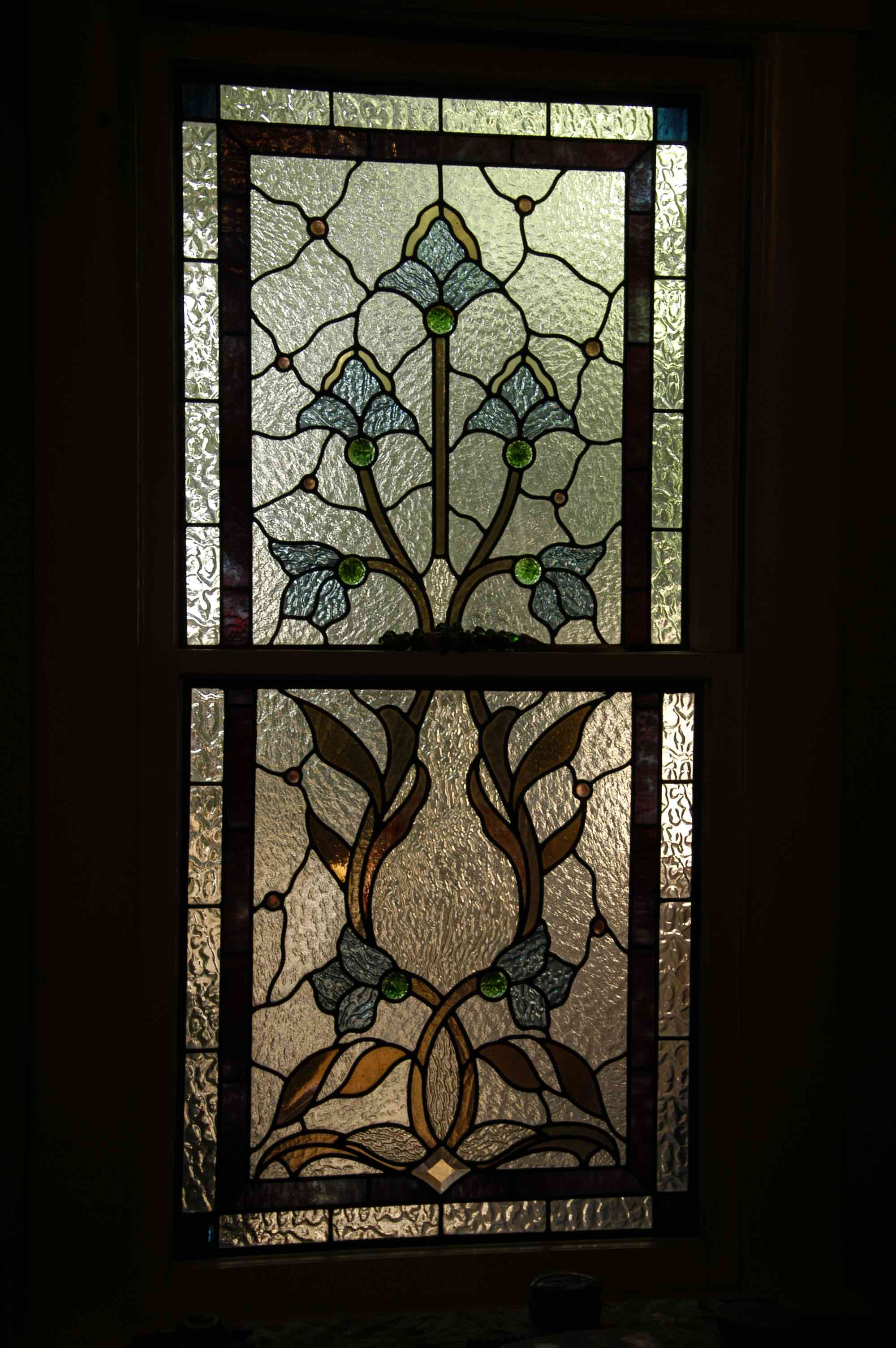 Leaded Victorian Glass